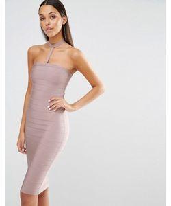 MISSGUIDED | Облегающее Платьечокер