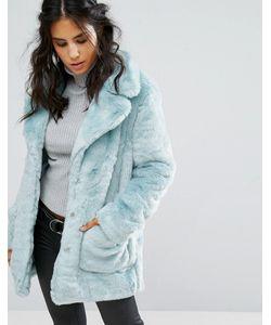 Glamorous | Пальто Из Искусственного Меха