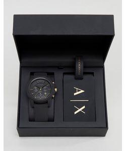 ARMANI EXCHANGE | Часы И Багажная Бирка В Подарочном Наборе Ax7105