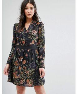 Lavand. | Платье-Рубашка С Принтом Lavand