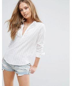Abercrombie and Fitch | Рубашка Без Воротника Abercrombie Fitch