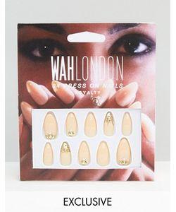 WAH | Накладные Ногти London Royal Nude