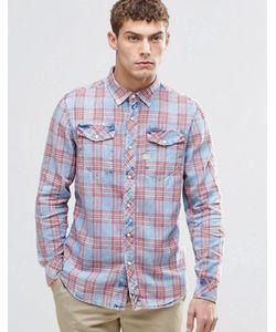 G-Star | Рубашка В Красную Клетку Tacoma