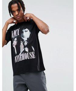 Asos | Свободная Футболка С Принтом Amy Winehouse