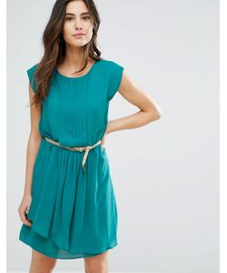 Louche | Платье С Плиссировкой И Поясом Shari