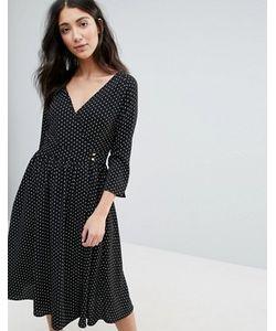 Unique 21 | Платье Миди С Запахом