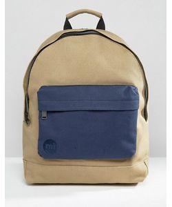 MI-PAC | Рюкзак Из Парусины Песочного Цвета