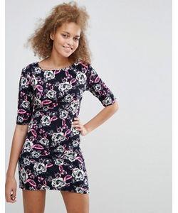 Pussycat London | Облегающее Платье С Цветочным Принтом