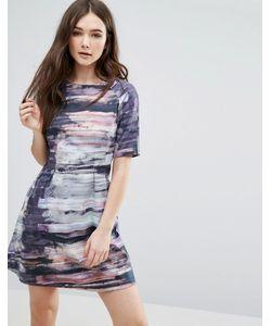 Lavand. | Цельнокройное Платье С Абстрактным Принтом Lavand