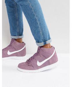 Nike | Высокие Кроссовки Dunk 904233-500