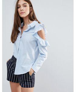 Influence | Рубашка С Открытыми Плечами И Оборками