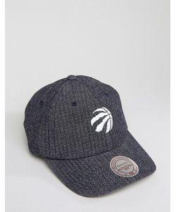 Mitchell & Ness | Двусторонняя Джинсовая Кепка С Регулируемой Застежкой Toronto Raptors
