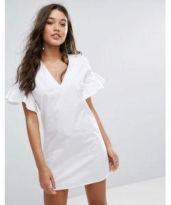 MISSGUIDED | Платье С Расклешенными Рукавами