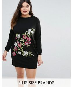 Boohoo Plus | Printed Sweat Dress