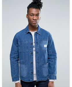 Pepe Jeans | Рабочая Джинсовая Куртка