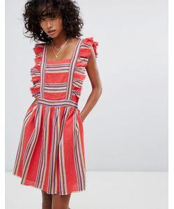 d.Ra | Платье С Оборкой Malibu