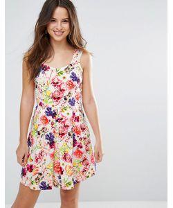 Louche | Платье С Цветочным Принтом Garnet