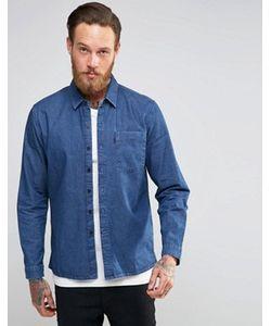 Levis Line 8 | Синяя Джинсовая Рубашка С Карманом Levis Line 8