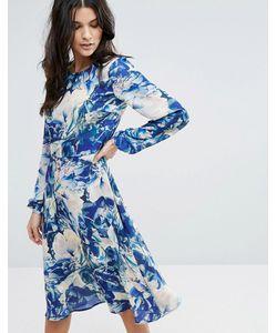 Y.A.S. | Платье С Цветочным Принтом Y.A.S Glaze