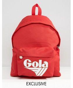 Gola | Классический Красно Рюкзак Эксклюзивно Для