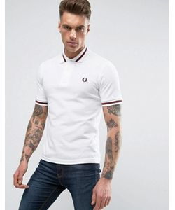 Fred Perry Laurel Wreath | Fred Perry Reissues Polo Single Tipped M2 Pique In Maroon