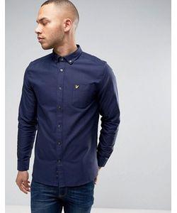 Lyle&Scott | Lyle Scott Oxford Shirt Buttondown Regular Fit Eagle Logo In