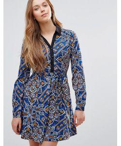 Yumi | Платье На Пуговицах Спереди