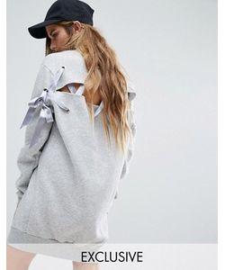 Reclaimed Vintage | Трикотажное Платье Со Шнуровкой На Спинке