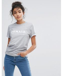 Adolescent Clothing | Футболка С Принтом Female Forever