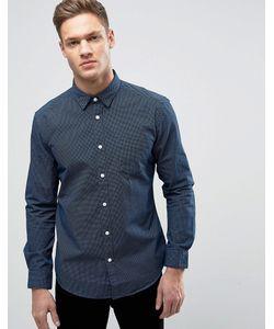 Esprit | Рубашка Слим В Горошек