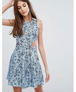 Madam Rage | Платье Из Ткани Шамбре