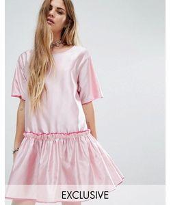 Reclaimed Vintage | Свободное Платье С Заниженной Талией