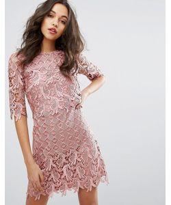 Little Mistress | Кружевное Платье Мини Из 2 Частей