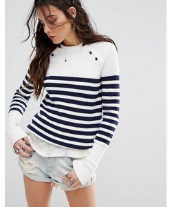 Lovers + Friends | Nautical Stripe Jumper