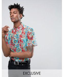 Reclaimed Vintage | Кружевная Рубашка Стандартного Кроя Для Вечеринок