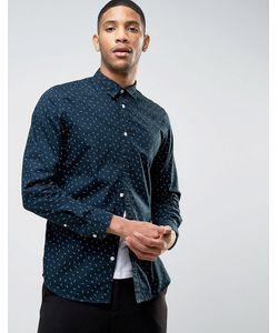 Selected Homme | Узкая Рубашка С Длинными Рукавами И Цветочным Принтом