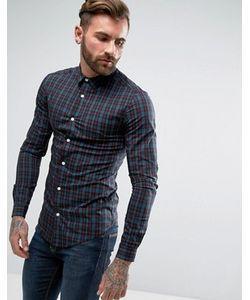 Asos | Рубашка Скинни В Клетку Тартан