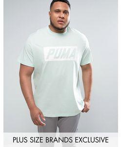 Puma | Зеленая Футболка В Винтажном Стиле Plus Speed Эксклюзивно Для