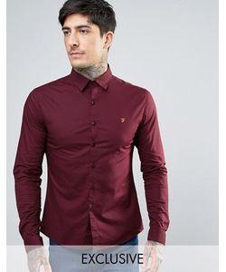 Farah | Поплиновая Рубашка Скинни Эксклюзивно Для