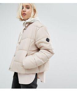 Puffa | Дутая Оversize-Куртка Без Воротника