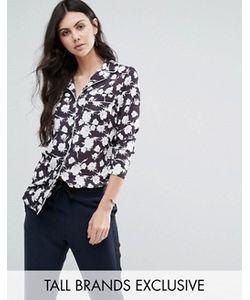 Alter Tall | Рубашка В Пижамном Стиле С Цветочным Принтом