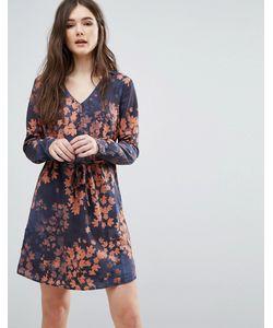 Lavand. | Платье С Выцветшим Цветочным Принтом Lavand