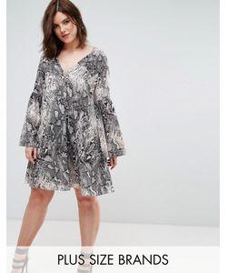 Elvi | Платье С Принтом