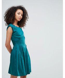 Louche | Платье С Фигурными Краями Julita