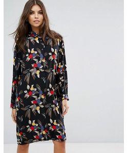 Love | Платье-Рубашка С Принтом