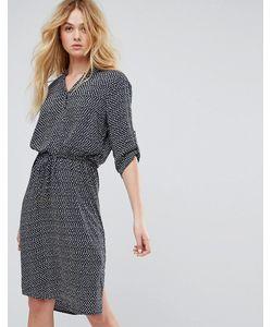 Soaked In Luxury | Платье-Рубашка С Принтом