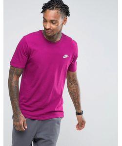 Nike | Футболка С Вышивкой И Логотипом 827021-665
