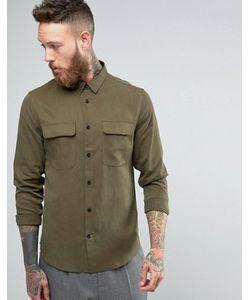 Hoxton Shirt Company | Узкая Рубашка В Строгом Стиле Из Купро