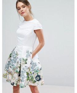 Ted Baker | Короткое Приталенное Платье Yvetta