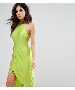 NaaNaa | Платье Миди С Запахом И Сборками